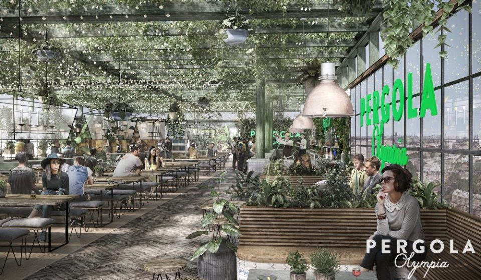 West London Is Getting A Gorgeous New Rooftop Food Hall