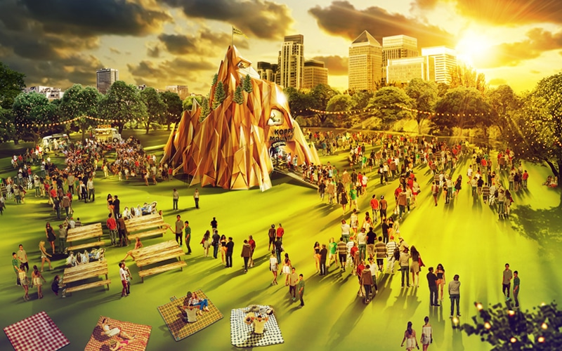 Climb The 50 Ft KopparMountain This Summer To Experience One Of London's Highest Parties