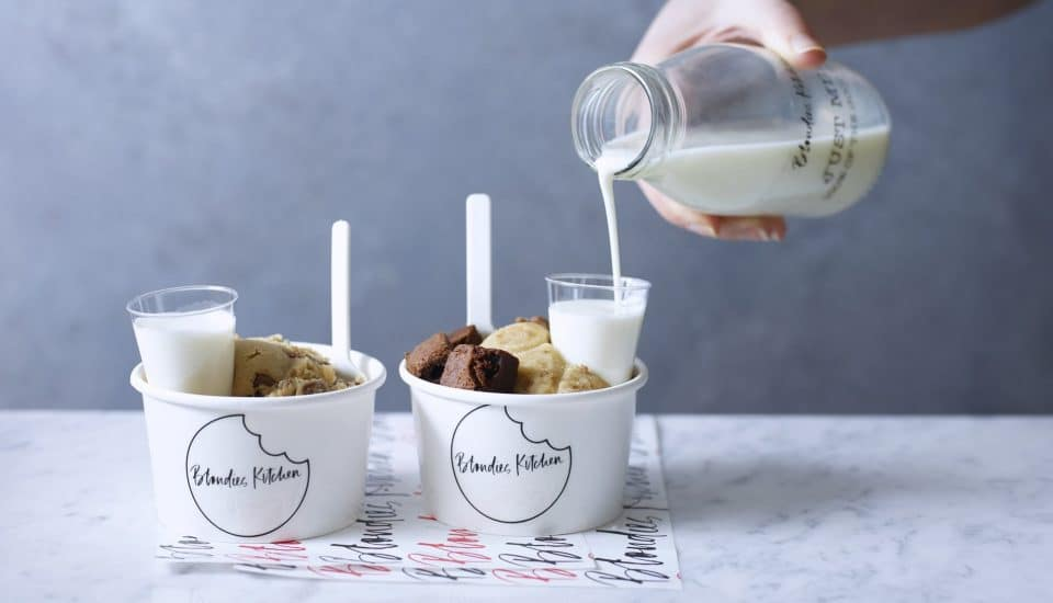London's First And Only Milk And Cookies Bar Is Pretty Damn Sweet • Blondies Kitchen
