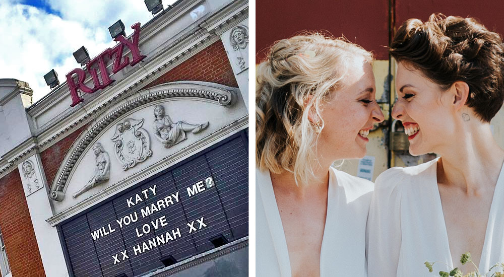 The Ladies From 2017's Romantic Brixton Proposal Finally Got Married, And Here's What Happened