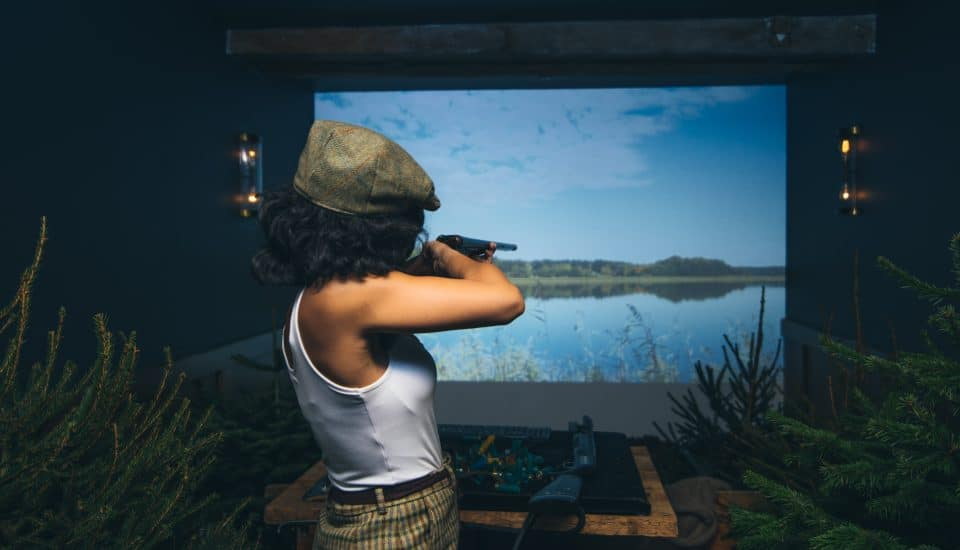 London's First Virtual Shooting Range Has Opened Inside A Whisky Bar • Mac & Wild