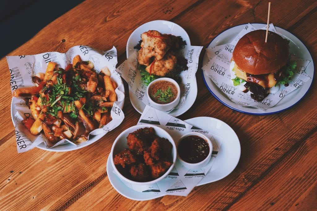 Earthling Ed's Non-Profit Vegan Diner Has Moved To A Huge New Location In Spitalfields • Unity Diner
