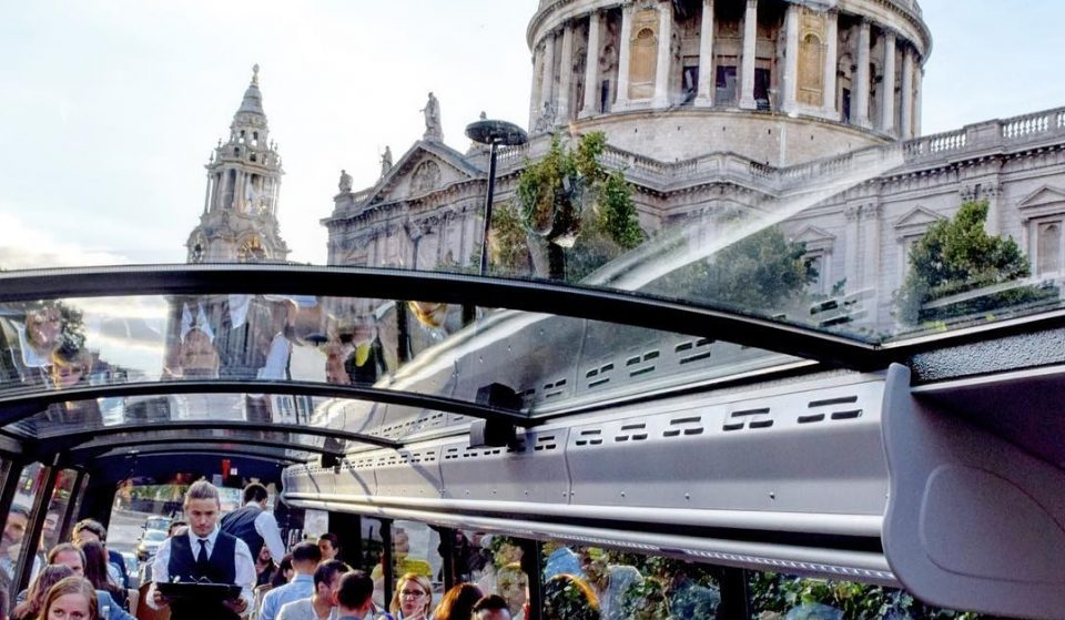 The London Bus Tour That Combines Sightseeing With Fine Dining • Bustronome