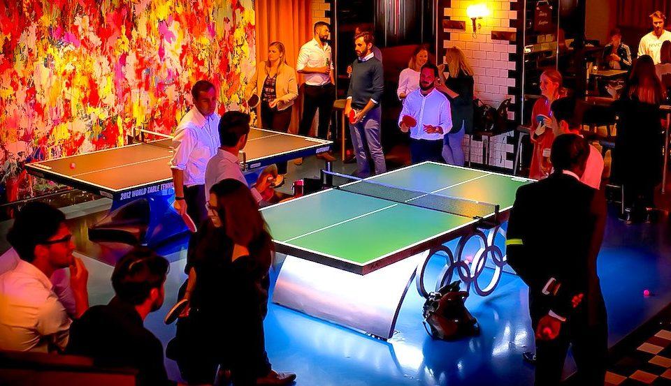 Inside London's Luxury Ping Pong Bars • BOUNCE