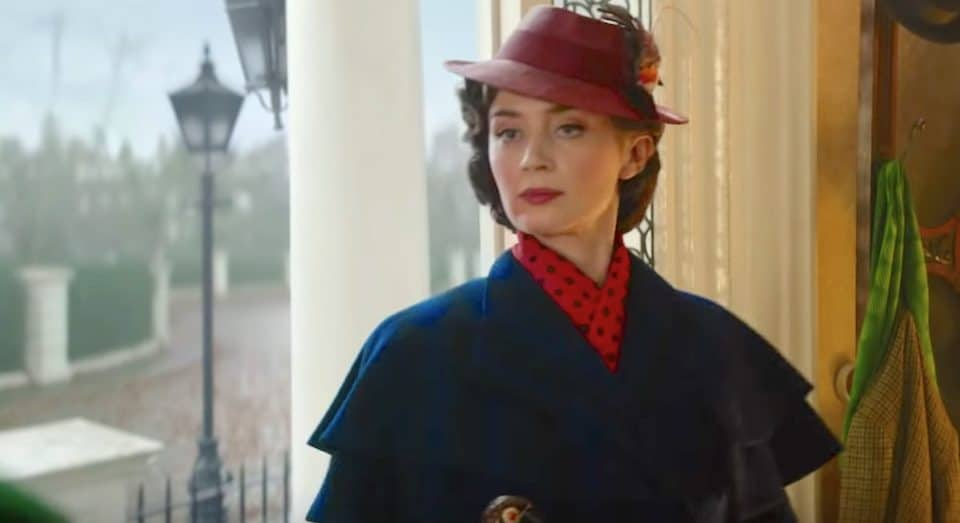 The Full Trailer For 'Mary Poppins Returns' Has Just Dropped (Via Magic Umbrella)