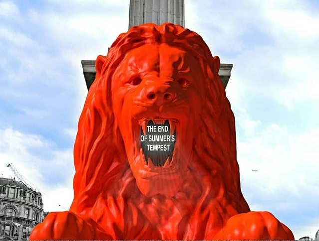 Trafalgar Square Is Getting A New Lion That Will Roar At Tourists