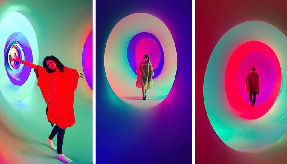 Get Lost Inside A Colourful Labyrinth In London This Easter