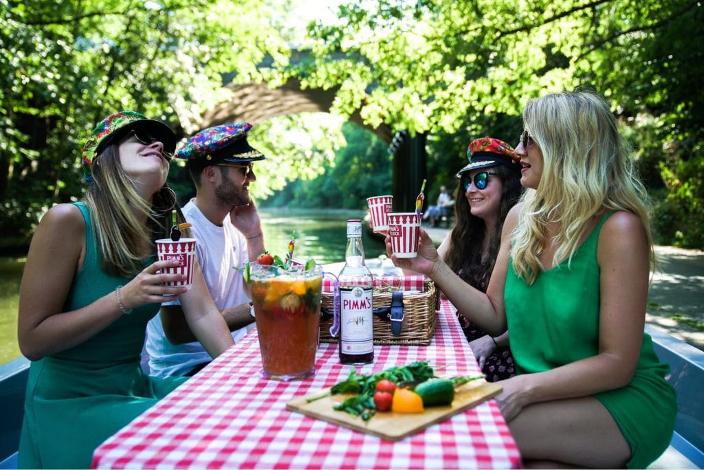 September Is Promising Sunshine So Here's How To Make The Most Of It With PIMM'S