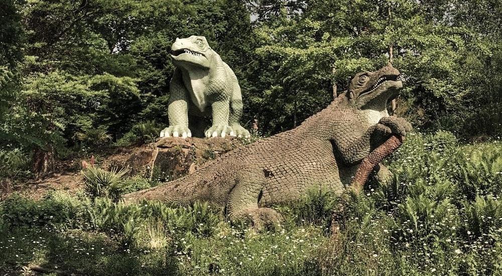 Crystal Palace Park: The Wacky London Park With Dinosaurs And A Maze
