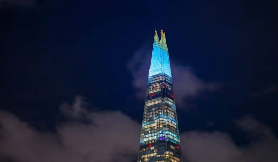 The Shard's Christmas Lights Will Return With A Lovely New Theme This Month