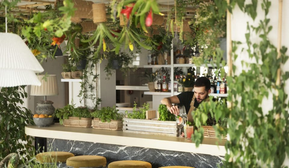 Inside Leicester Square's Gorgeous Plant-Filled Rooftop Bar & Restaurant • Garden Room