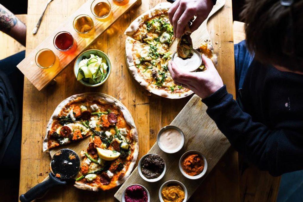 Free vegan pizza