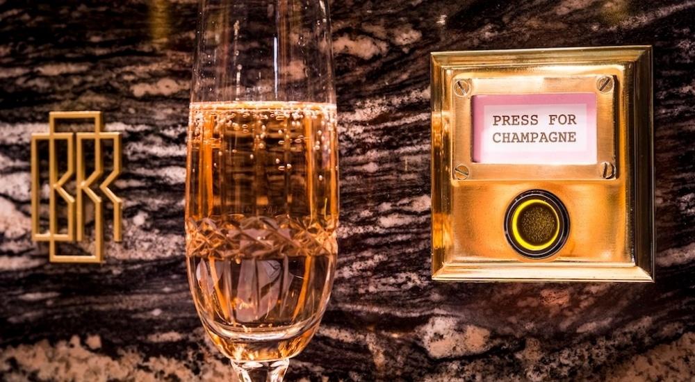Inside London's New 'Press For Champagne' Restaurant • Bob Bob Cité