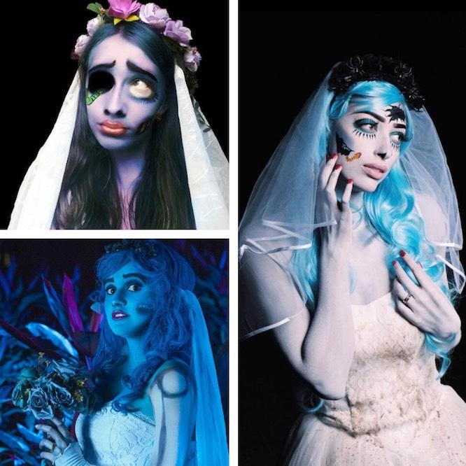 Costume Halloween Corpse Bride