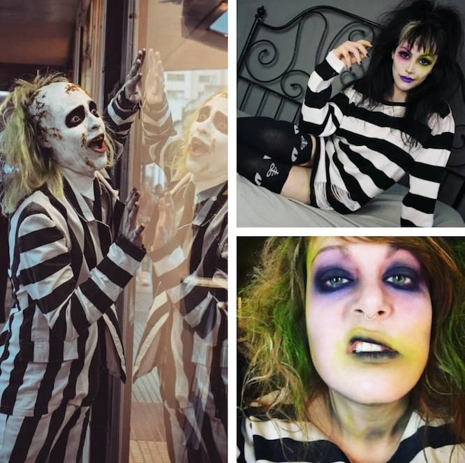 Beetlejuice Makeup Ideas Halloween