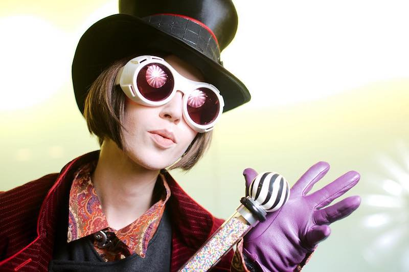 Willy Wonka Cosplay