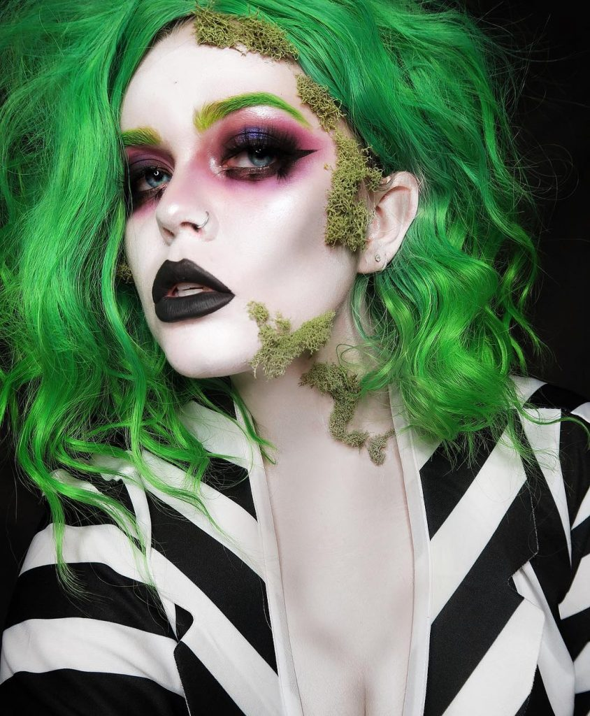 Beetlejuice Makeup Halloween