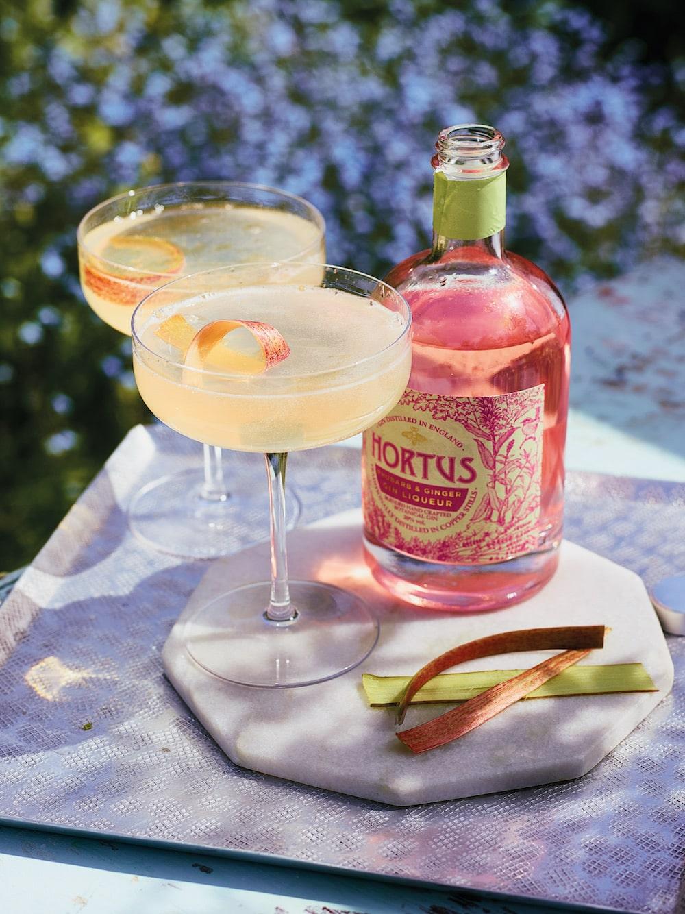 Lidl Hortus Rhubarb & Gin