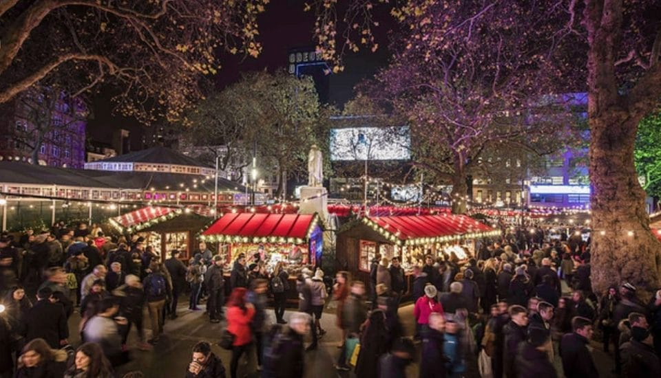 Leicester Square's Glittering Christmas Market Is Returning This Winter