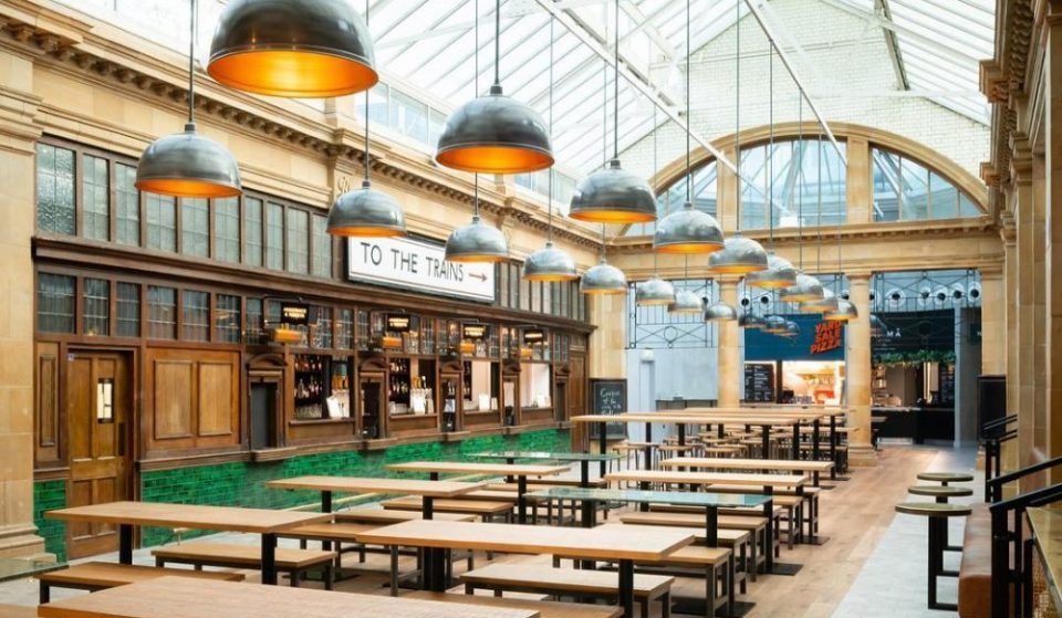 The Fab Food Hall Housed Inside An Old Tube Station • Market Hall Fulham