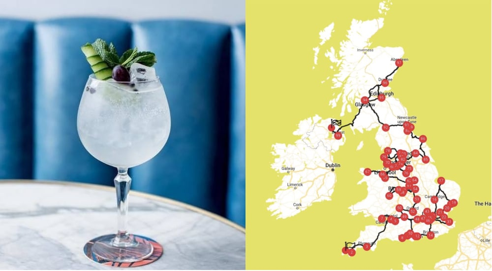 The Ultimate 5-Day Gin Crawl, Passing Through 24 London Bars