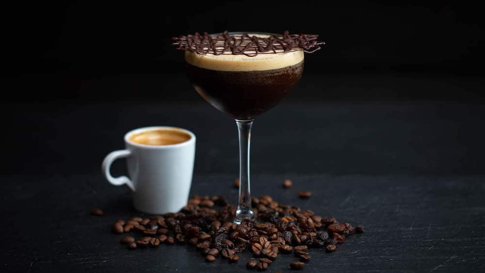 Rum Raisin Espresso Martini