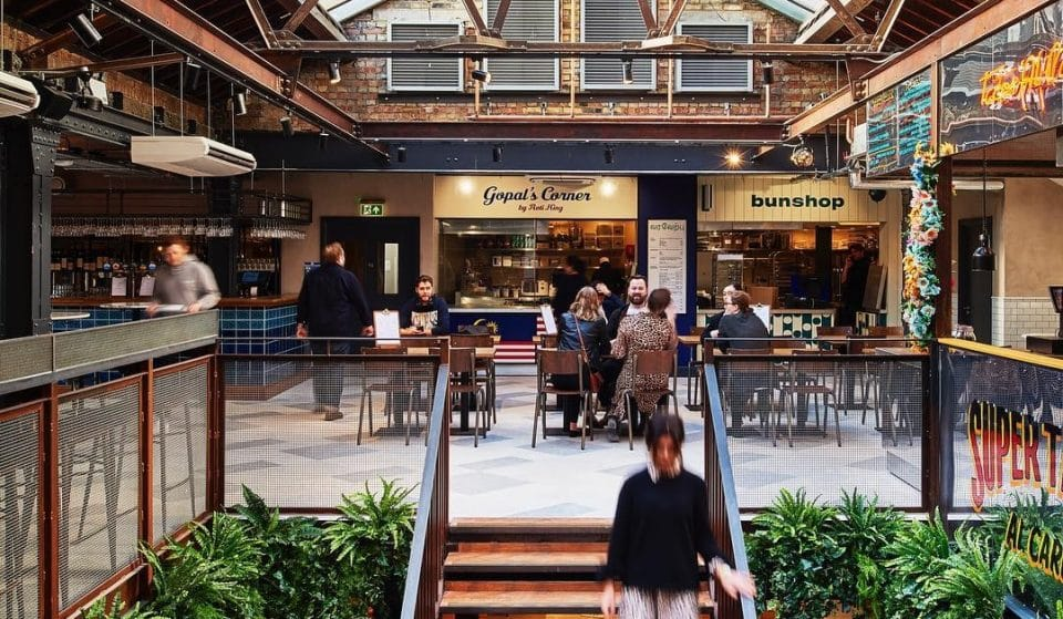 The Fabulous London Food Hall With Its Own Rooftop Terrace • Market Hall Victoria