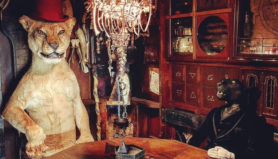 Inside The Peculiar East London Museum With The Curious Cocktail Bar • Viktor Wynd's Museum of Curiosities