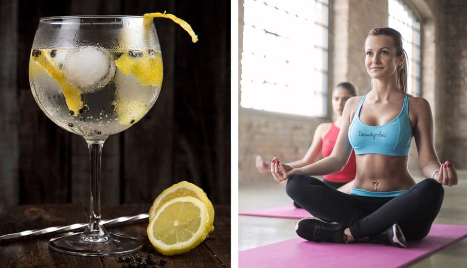 Gin Yoga Is The Workout We've All Been Waiting For – And It's Finally Coming To London