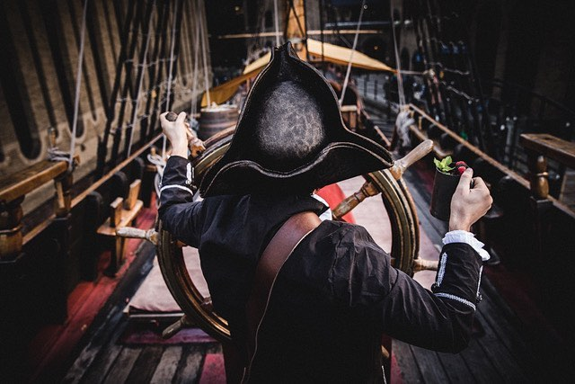 This Pirate-Themed Cocktail Bar Sits On Board A 16th Century Ship
