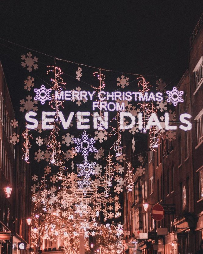 Seven Dials Xmas Lights