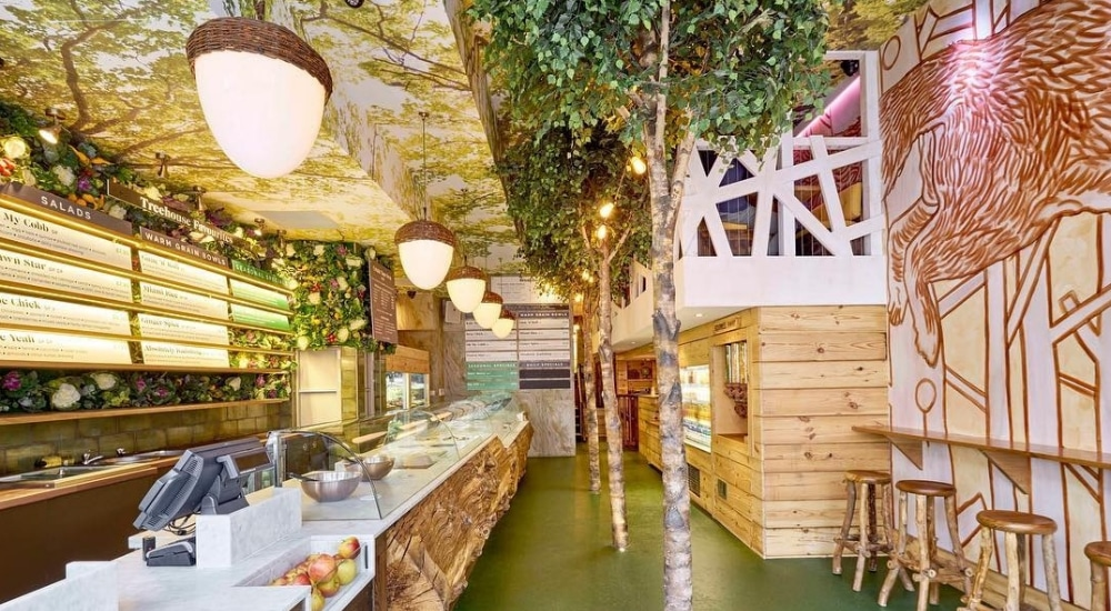 We're Nuts About This Cute Little Treehouse Hidden Inside A London Restaurant