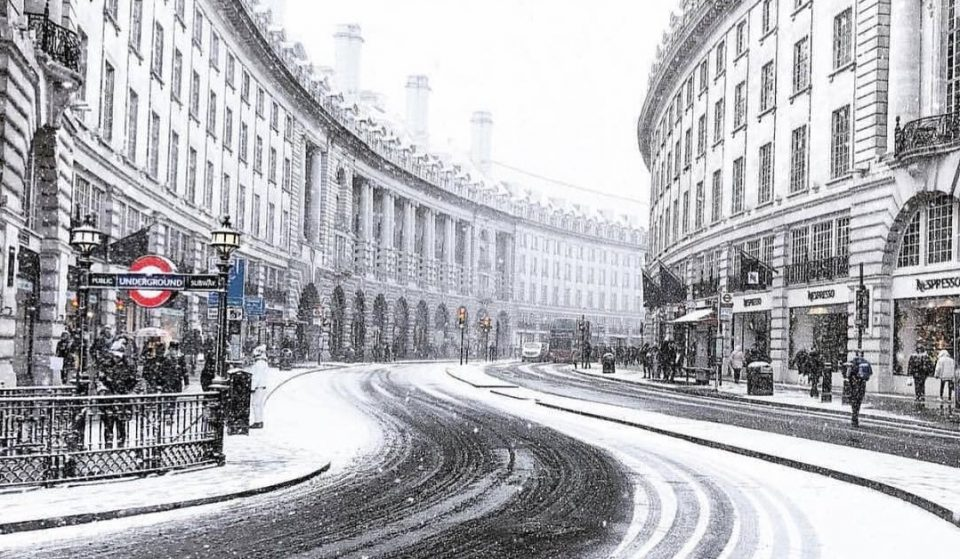 Don't Panic, But London Might Get A Dusting Of Snow Tonight
