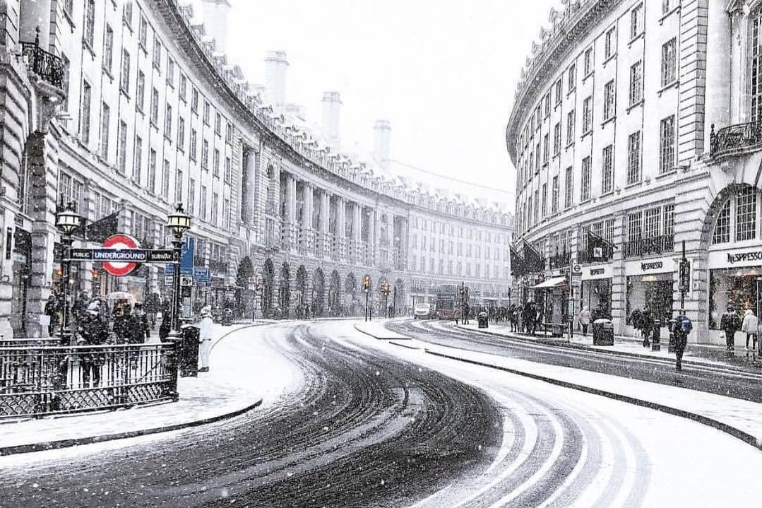 Don't Panic, But London Might Get A Dusting Of Snow Tomorrow