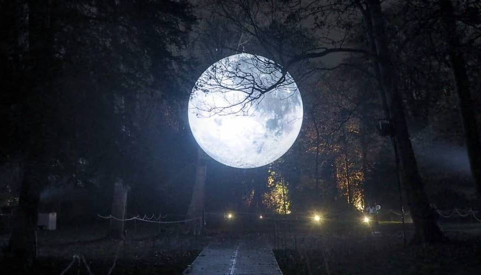 You Can Walk Beneath The Moon At This Glowing Wintertime Trail