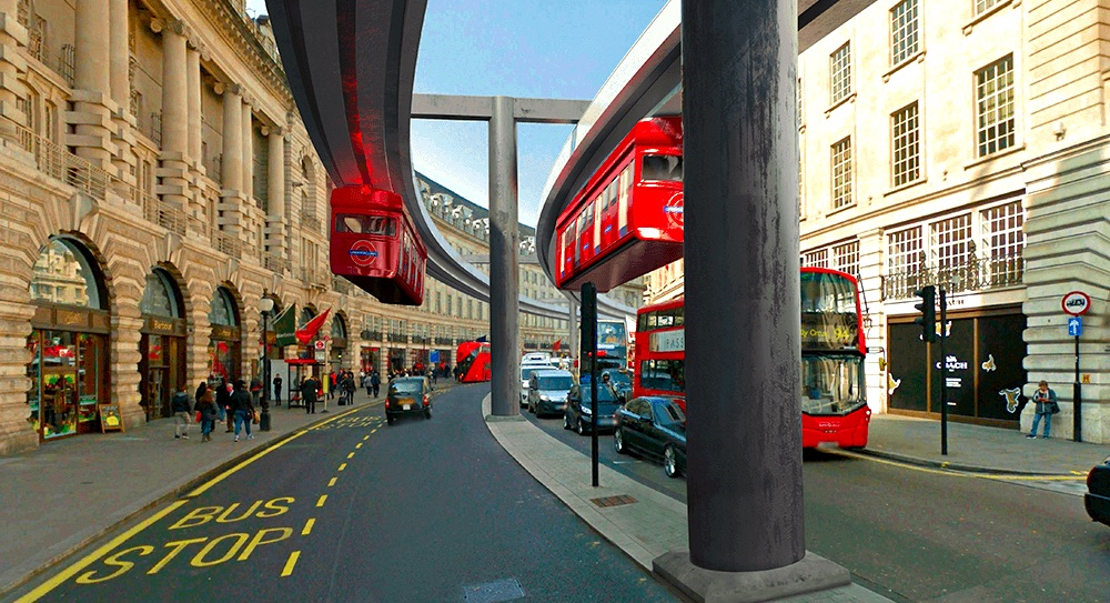 The Regent Street Monorail (And Other Crazy London Ideas That Almost Happened)