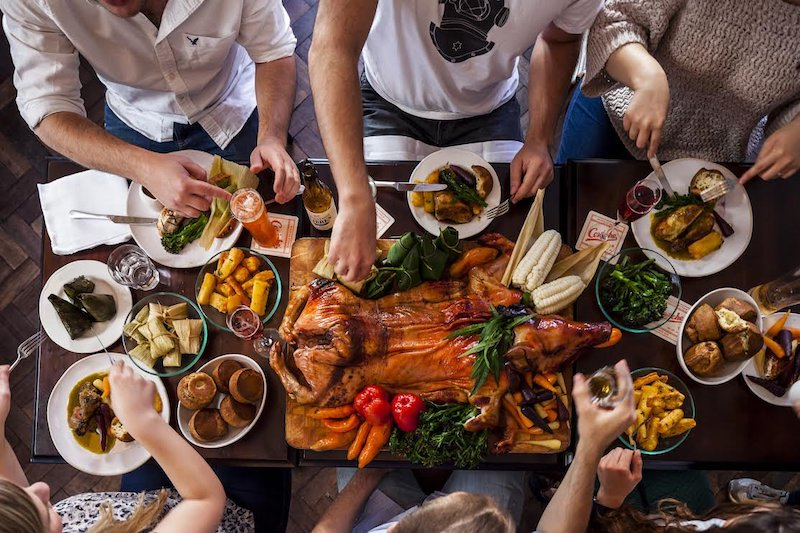This Restaurant Offers A Whole Suckling Pig For Serious Roast Fans • Andina Shoreditch