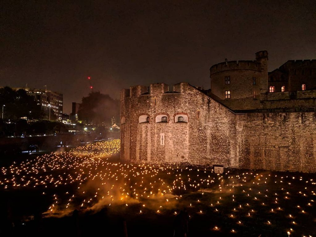 Tower of London torches