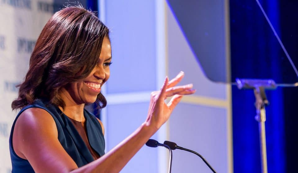 Michelle Obama Is Appearing Live At The Royal Festival Hall This December