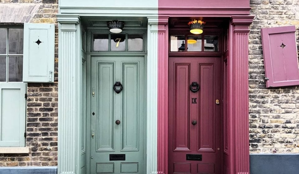 Just Some Pictures Of London's Prettiest Doors To Brighten Up Your Day