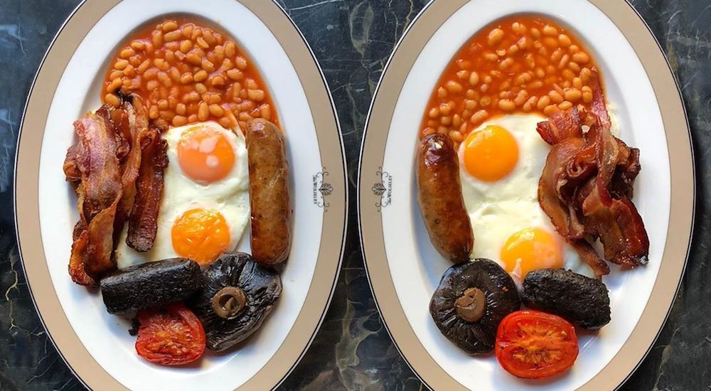 This Instagram Account Is Dedicated To Nothing But Symmetrical Breakfasts