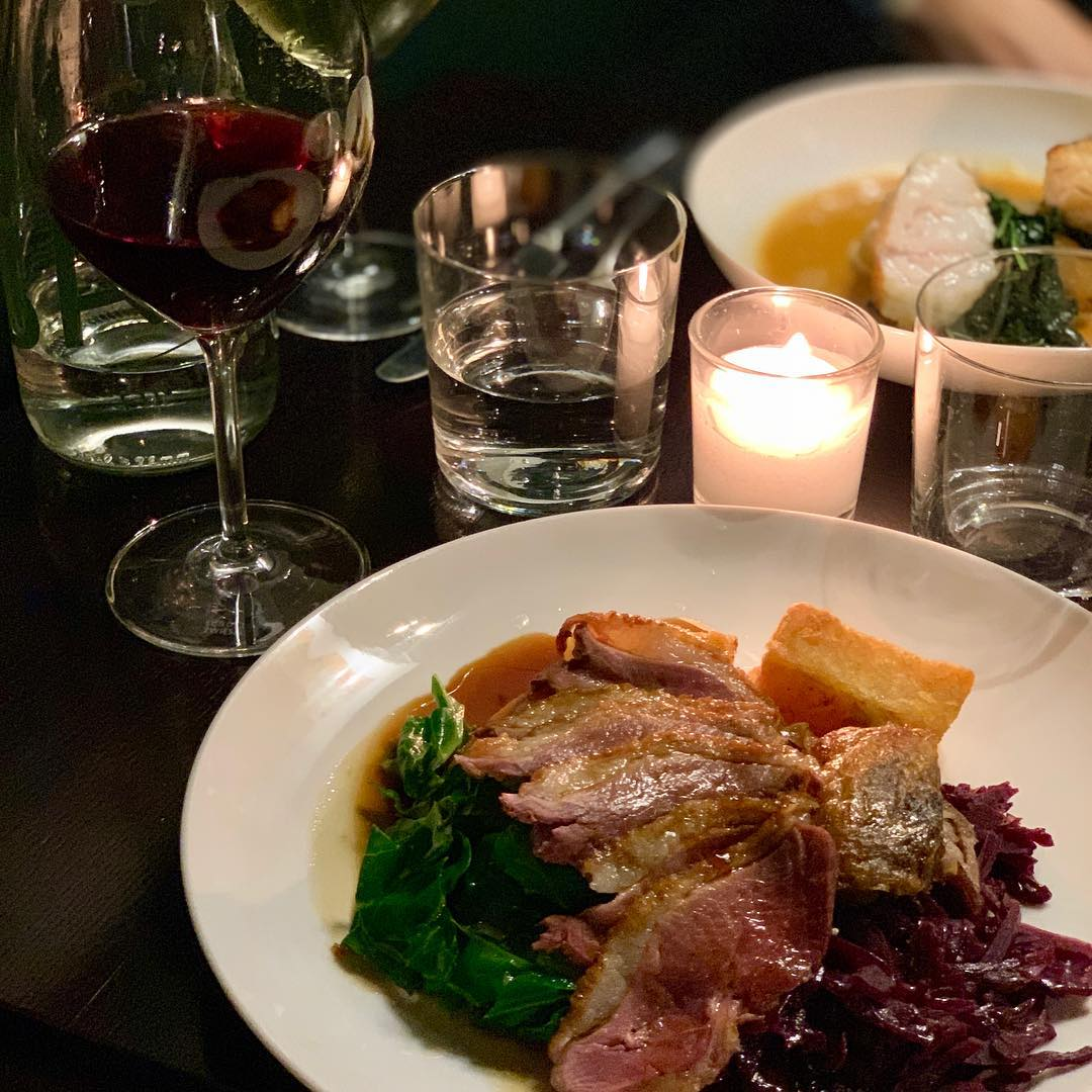 """Noble Rot has been nominated for the 'Red Wine-Serving Restaurant' award, which is """"for those who shun current fashion by still championing the red grape."""" (Photo by @stephen_macintosh)"""