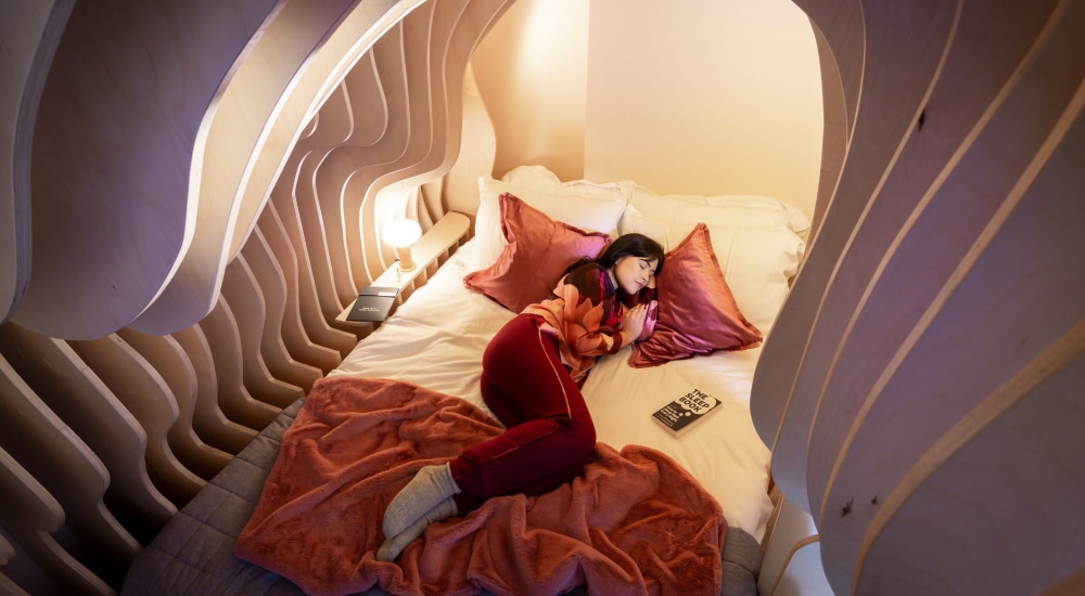 Sleep Like A Baby In A Hotel Inspired By The Safety And Snugness Of The Womb