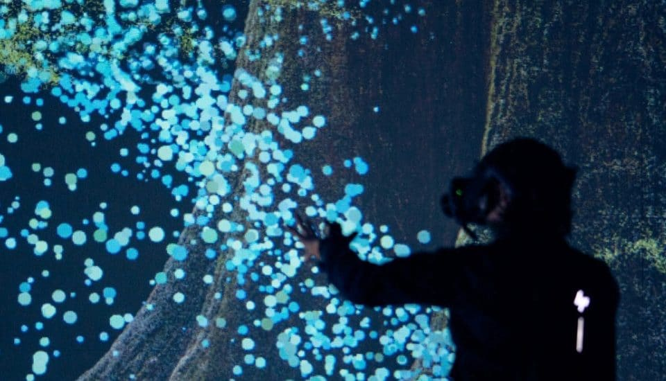 This Incredible VR Installation Will Use Your Heartbeat To Create Stunning Visuals