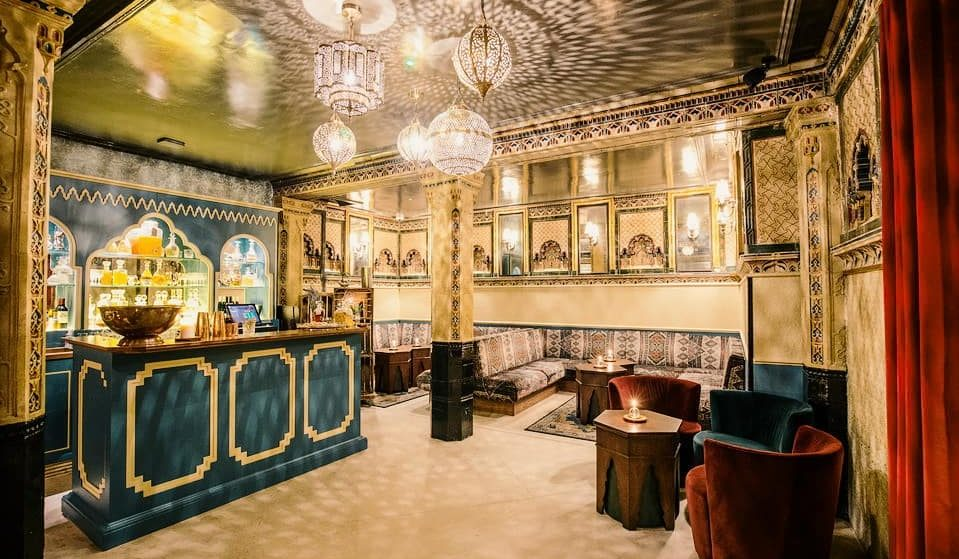 The Luxury Cocktail Bar Hiding Inside An Ornate Bath House • Victorian Bath House