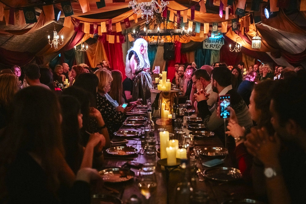 A Game Of Thrones-Inspired Feast Has Taken Over The Vaults (And Murder Is On The Menu)