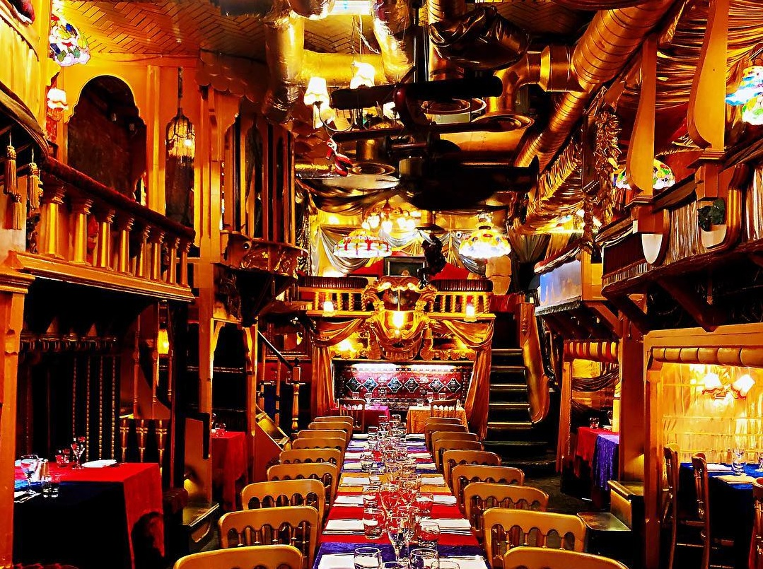 Sarastro The Madcap Theatreland Restaurant That S Chock Full Of Old Props