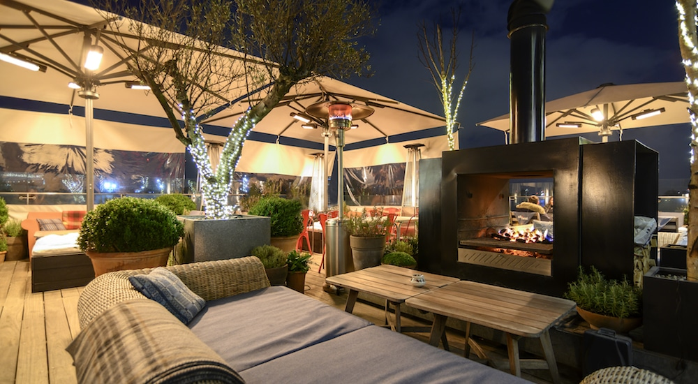 This Cosy Winter Rooftop Is The Perfect Place For Melted Cheese And Cocktails