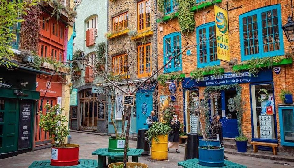 Here's What's Hidden Away In This Colourful Corner Of Covent Garden •Neal's Yard
