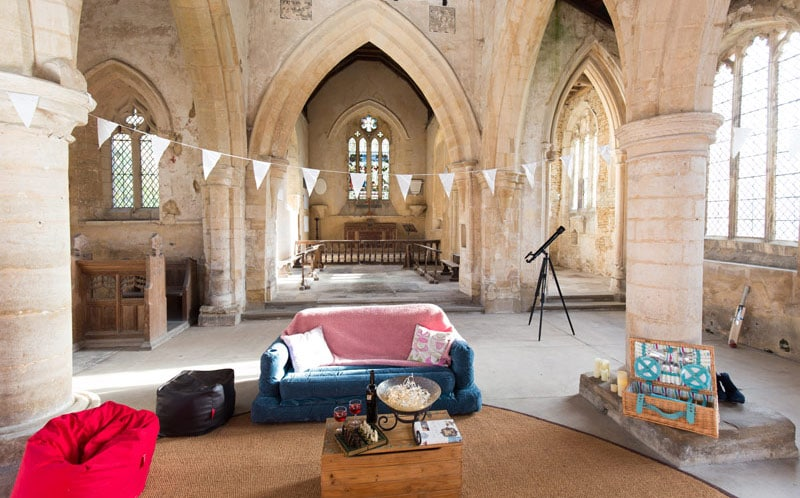 Champing In English Churches
